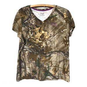 RealTree Camouflage T-shirt Top Size XL